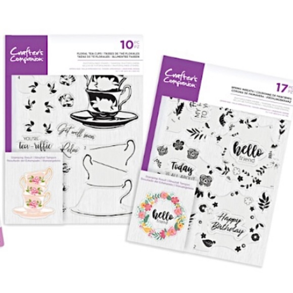 Crafter's Companion Photopolymer Stamp Set